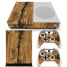 XBOX ONE S design pelle sventa Adesivo Pellicola Protettiva Set - vecchio legno
