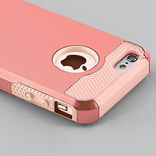 Hybrid Shockproof Hard Rugged Heavy Duty Cover Case For Apple iPhone SE 5 5s TPU
