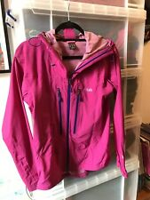 Rab Women's Spark Shell Jacket (Rain &Wind proof) Size 10 Small (RRP £157)
