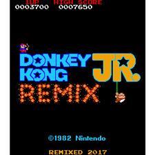 Donkey Kong Junior Jr DKJr Remix High Score Save Kit Classic Arcade Game