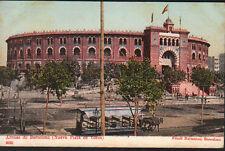 ANTIGUA POSTAL BARCELONA PLAZA DE TOROS LAS ARENAS 1904 OLD POSTCARD     CC01217