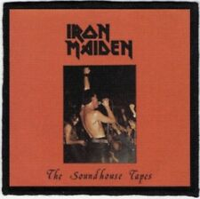Iron Maiden Soundhouse Tapes Printed Patch I028P Motorhead Judas Priest