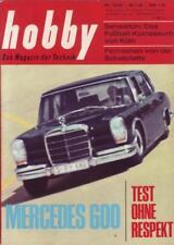 Hobby Mercedes 600 Test ohne Respekt  Nr. 16/1965 28.07.1965