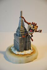 More details for ron lee warner bros, looney tunes, taz on empire state building 24k 356/750