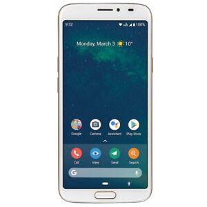 "Doro 8080 32GB Android Smartphone Seniorenhandy 5.7"" Alarmtaste weiß"