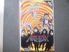 Anthrax comic Rock n Roll Comics #24 - 1991 First Printing !
