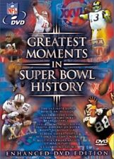 DVD - Sports - Greatest Moments in Super Bowl History - NFL - Never Seen Before
