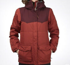 HOLDEN Women's LOUISA Snow Jacket  - Burnt Henna Port Royale - Size Medium - NWT