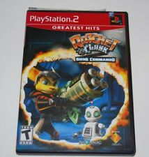 RATCHET & CLANK GOING COMMANDO Sony Playstation 2 Game PS2