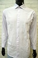 CALVIN KLEIN Uomo Camicia a Righe Camicetta Taglia XL Maglia Shirt Man Hemd