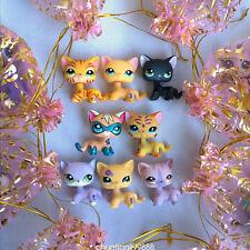 5pcs/bag LPS short hair Cat rare old Littlest Pet Shop toys surprise gift Random