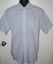 Brooks Brothers Mens Size 16 Traditional Fit Button Front Cotton Dress Shirt
