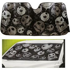 Nightmare Before Christmas Car Truck Black Windshield Front Folding Sun Shade