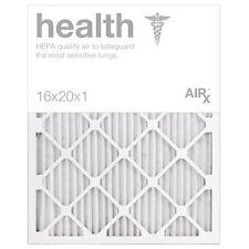 AiRx Health Air Filters Box of 6 - Pleated 16x20X1 MERV 13 Air/Furnace/AC/HVAC