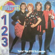 """7"""" 1983 KULT IN MINT- ! THE HORNETTES : 123 1-2-3 1 2 3"""
