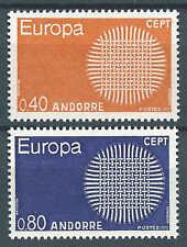 Andorre - 1970 - Europa  - N° 202/203 - Neufs** - MNH