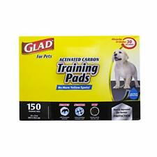 Glad for Pets Black Charcoal Puppy Pads | Puppy Potty Training Pads That ABSO...
