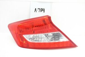 New OEM Honda Civic Coupe Tail Light Lamp Taillight 2012 2013 LH 33550-TS8-A01