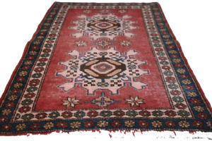 Antiker Teppich Derbent Kasak Kazak old rug carpet tapis 100X65cm