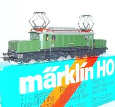 "Marklin AC HO 1:87 DB ""GERMAN CROCODILE"" BR E194 ELECTRIC LOCOMOTIVE MIB`85 RARE"