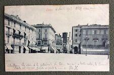CPA. COMO. Come. 4 Août 1903. Nomination du Pape Pie X. Cloches. Piazza Cavour