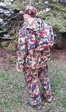 4Pc Swiss Military Alpenflage Battle Set Camo hunting Paintball Airsoft L/XL Men