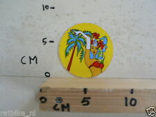 STICKER,DECAL PIN-UP GIRL F