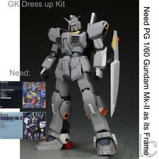 GK Resin Dress up Kit EVO ver 2.0 for Bandai PG 1/60 RX-178 Gundam MK II Model