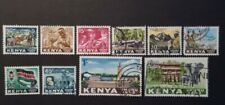 KENYA 1963 between  MI.NR. 1-10