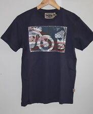 Tee shirt Homme TRIUMPH James Dean Flag Legend - MTSA13137 - Bleu Taille S