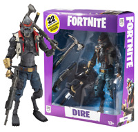"Fortnite McFarlane Toys Dire Wolf Werewolf Premium Deluxe Action Figure 7"" Furry"
