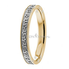 10K Solid Gold Floral Design Womens Wedding Bands Rings Gold Womens Wedding Ring