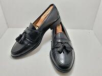 Johnston Murphy Tassel Dress Shoes Size 9 M Black