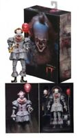 """IT PENNYWISE NECA Action Figure  7"""" Exclusive Bloody Paint Deco Costume 🎈🎈NEW"""