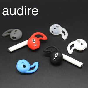 Audire Silicone Ear Hooks Wings for AirPods - 2 pairs, Earbuds