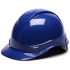 Pyramex Cap Style Hard Hat - 6 Point Ratchet Suspension - Blue - HP46160