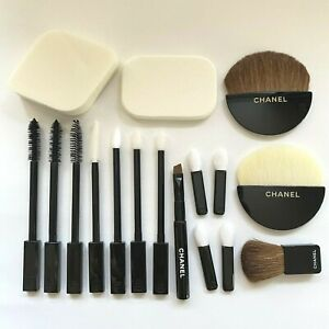 CHANEL Face Makeup Brushes SET x 17 items SET IN CRAFT PACKAGING
