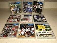 Play Station 3 Motion Active Games Bundle