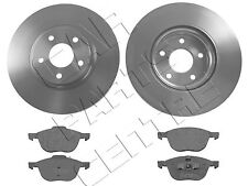 FOR FORD KUGA 2.0 2.5 TURBO FRONT 300mm VENTED BRAKE DISCS & PAD PADS 2008-2013