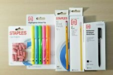 5 Items Pencils, Pens, Cap Erasers, Highlighters Hb-109 Comb/Ship Available