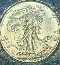 1935 P Walking Liberty silver half dollar, BU