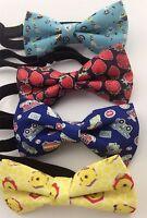 1 Boy Kid Children Handsome Party Pre-tied Wedding bow tie Necktie bowtie PROP