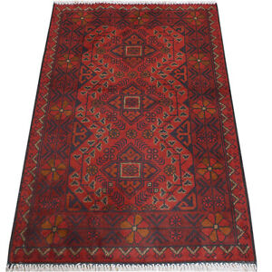 Hand-knotted Beautiful Afghan Tribal Decor Khal Mohammadi Rug 119x78 cm <10918>
