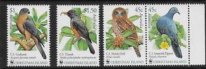 CHRISTMAS IS.   2002   Birds   MNH-VF   à  Mich. 497-500