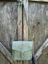 Cut N' Paste Kilda Crossbody Bag Pebbled Soft Leather Anthropologie Green Moss