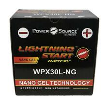 Power Source WPX30L-NG Nano Gel 30AH Lightning Start Battery