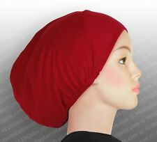 Cotton Muslim Hijab Inner Caps Islamic Under scarf Hats Hijab # 1 Ships from USA