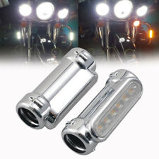 "1.25"" Chrome Motorcycle Highway Crash Bar Light for Harley Victory Switchback"