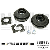 VAUXHALL ASTRA H MK5 2004-2015 X2 FRONT SUSPENSION TOP STRUT MOUNTS + BEARINGS