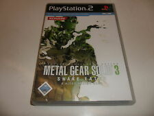 PLAYSTATION 2 PS 2 Metal Gear Solid 3: Snake Eater